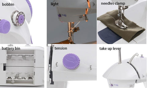Portable Small Sewing Machine Best For Beginners Cheap Machines