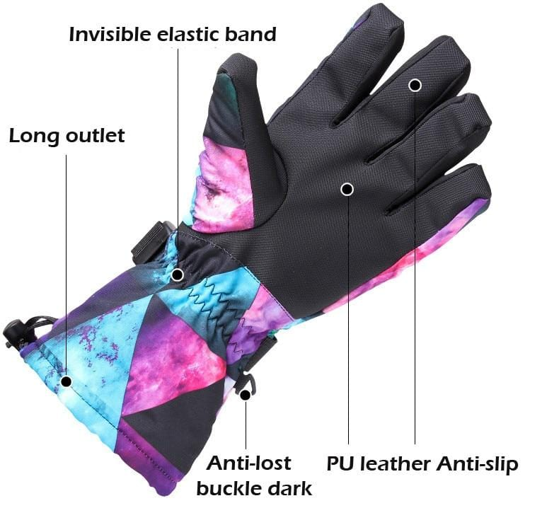 Warmest Womens Ski Gloves Best 2019