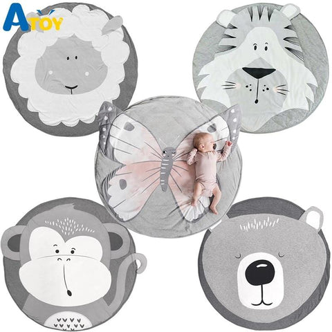 baby cartoon animal play mat best playmat tummy time foam floor activity kids skip hop care infant crawling gym