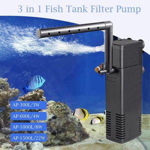 Fish Aquarium Tank Filter Small Pump Best Water