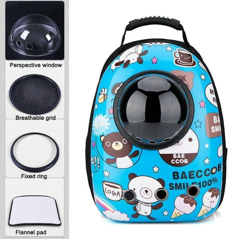 Cat Bubble Carrier Backpack With Window