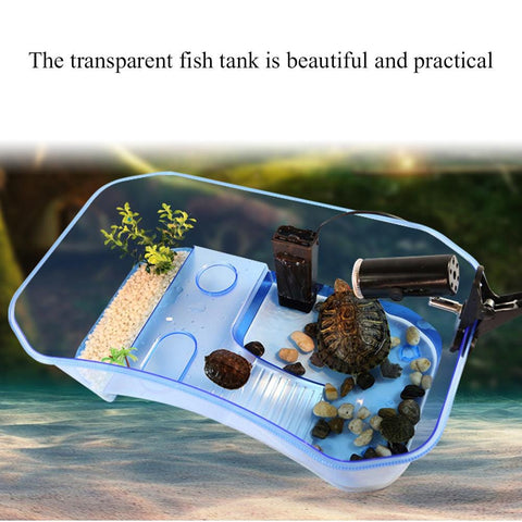 Turtle Aquarium Tank Kit Cage Aquatic