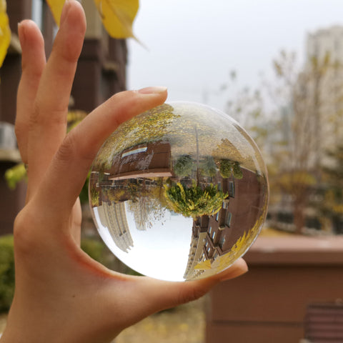 Lensball Glass Photography Ball Sphere Lens Ball 80mm Camera