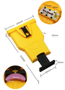 Electric Chainsaw Teeth Sharpener Blade Chain Best Kit Sharpening Automatic Tool Self