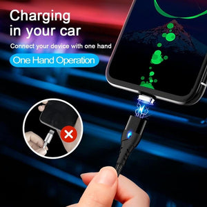 Quick Charger 3.0 Magnetic Cable USB Iphone Charging