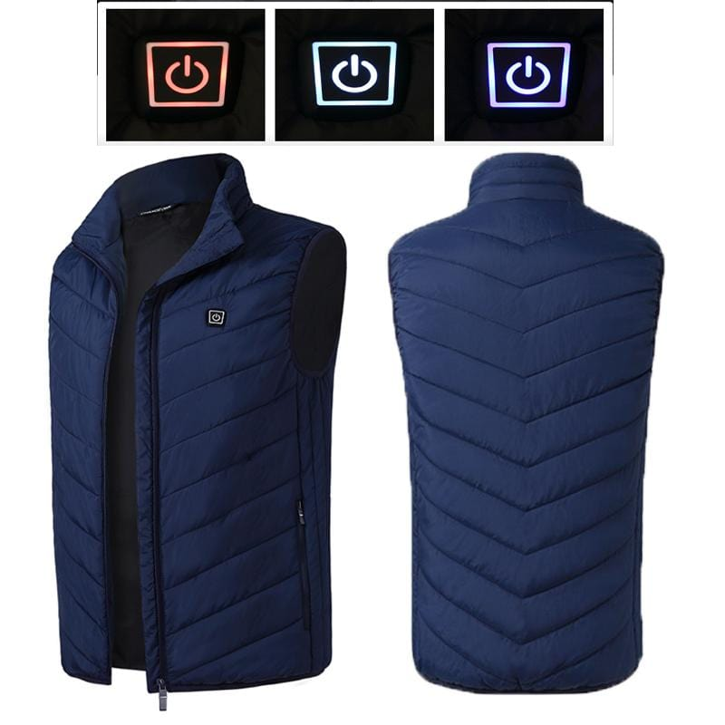 Heated Rechargeable Electric Vest Womens Mens Hunting