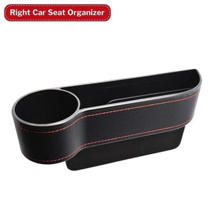 Multifunctional Car Seat Organizer Passenger Front With Tray Gap Pocket Crevice Storage Box