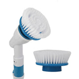 Electric Power Scrubber With Extension Handle