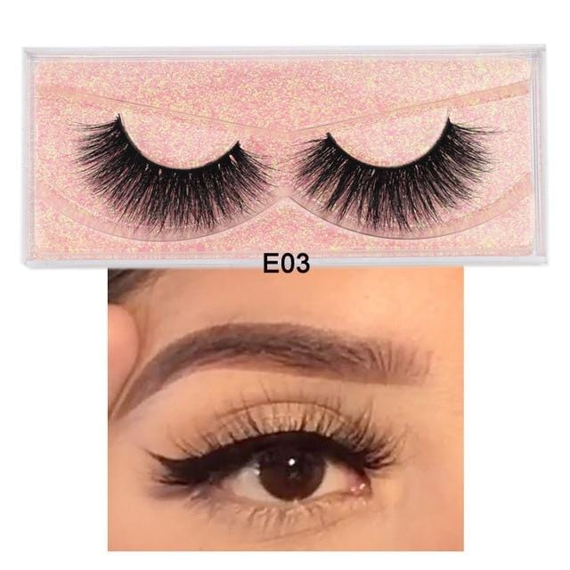 3D Real Mink Eyelashes Lashes Cheap