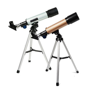 Professional Astronomical Telescope With Tripod For Watching Stars