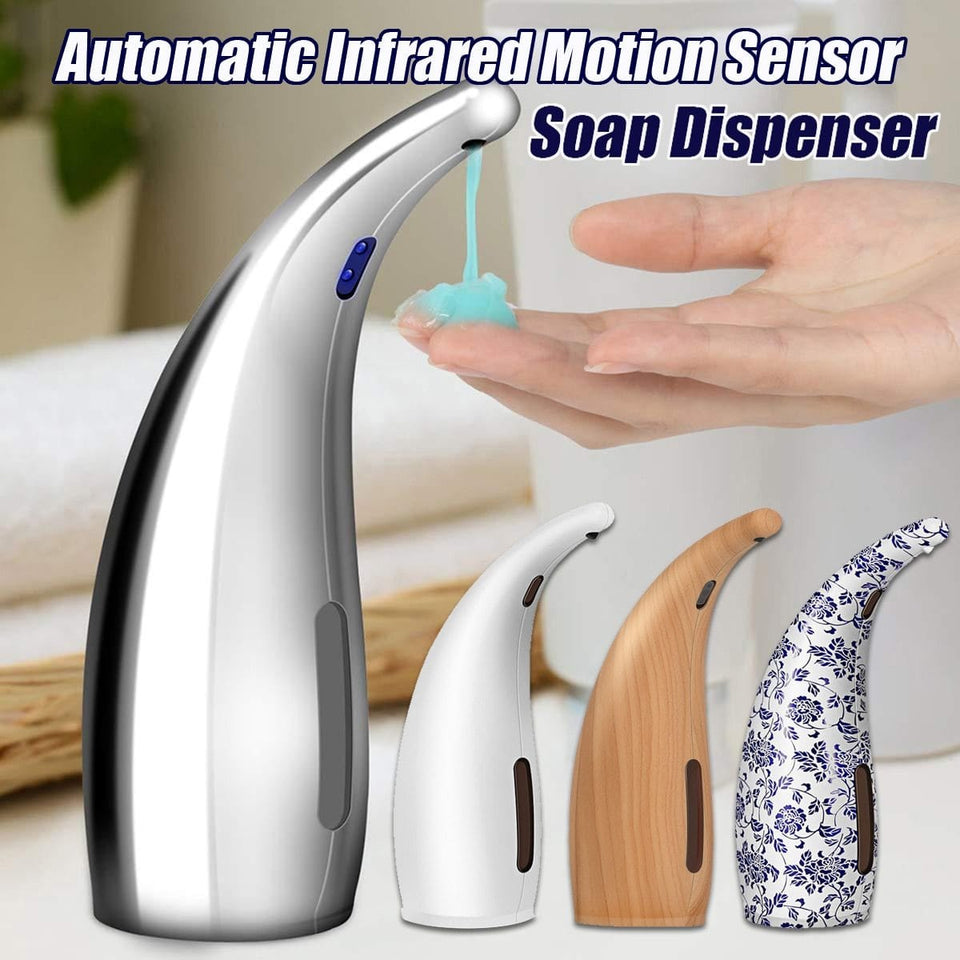Automatic Smart Soap Dispenser with Sensor 300ml Capacity Touchless Hand-Free