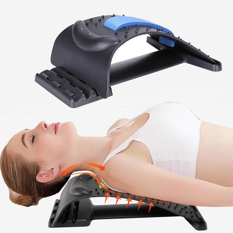 Chiropractic Cervical Neck Traction Stretcher Support