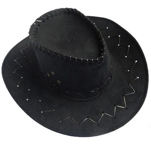 Womens Western Cowboy Hat Hats Black Ladies Female