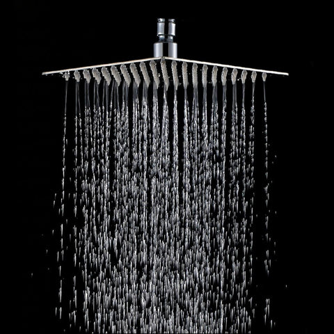 Rain Shower Rainfall Rainforest Large Head Waterfall Wall Mounted Square Raindrop Ceiling Mount Best