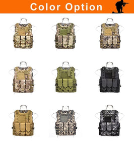 Tactical Vest Military Black 5.11