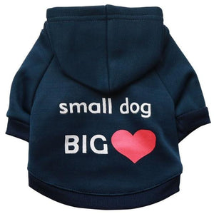 Dog Hoodie Small Puppy Hoodies Sweatshirts