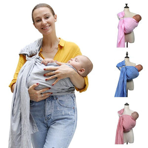 Wrap Baby Carrier,Adjustable Infant Carrier Windproof Sling Wrap Front Back Rider Backpack Winter Cover Blanket with Warm Pockets