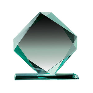 Load image into Gallery viewer, GL10200 - Diamond Jade Value Series Glass Award