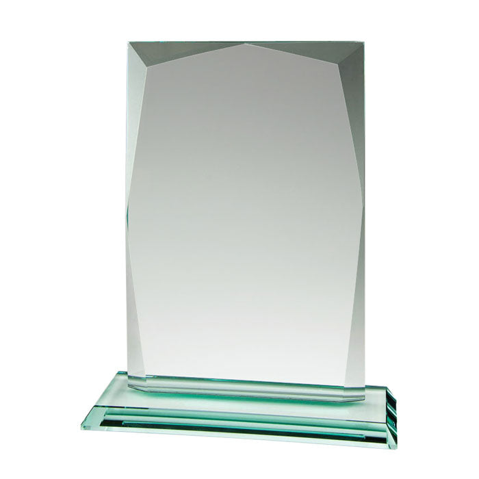 GL10331 - Billboard Emerald Jade Glass