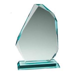 Load image into Gallery viewer, GL15202 - Offset Prestige Thick Jade Glass Award
