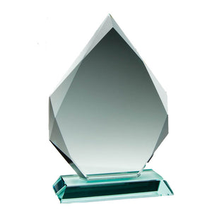 Load image into Gallery viewer, GL15207 - Arrowhead Jade Glass Award