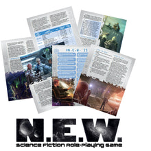 Load image into Gallery viewer, N.E.W. The Science Fiction Roleplaying Game v1.2 (4159100387437)