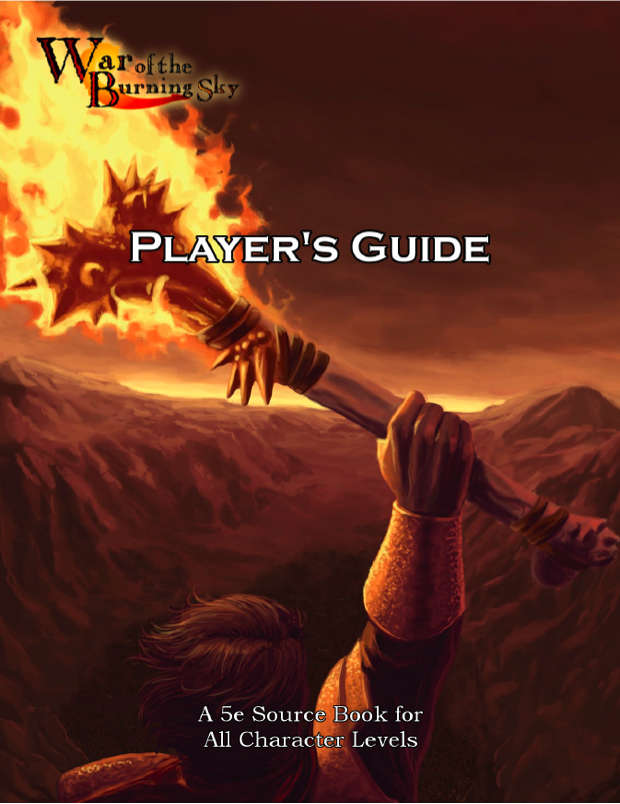 War of the Burning Sky Player's Guide