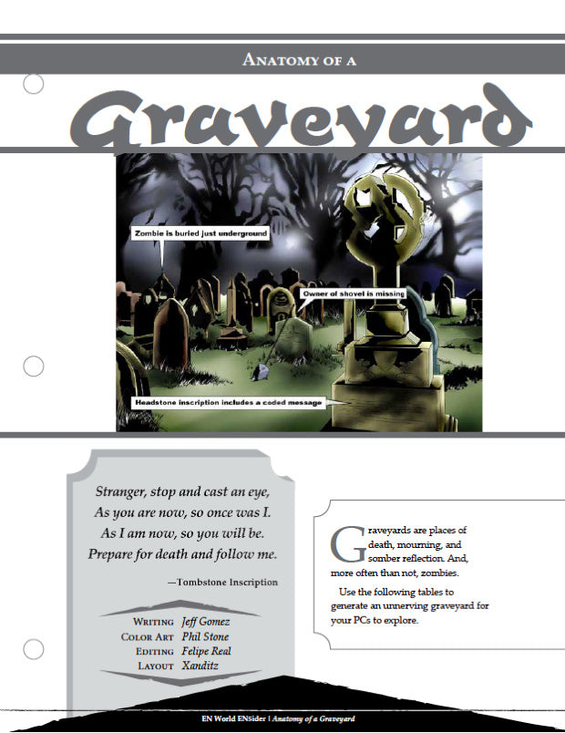 Anatomy of a Graveyard