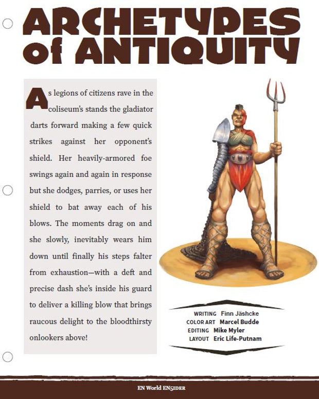 Archetypes of Antiquity