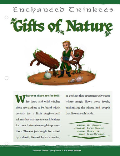 Enchanted Trinkets: Gifts of Nature