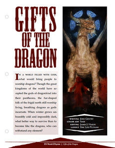 Gifts of the Dragon