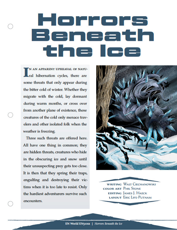 Horrors Beneath The Ice