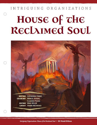 Intriguing Organizations: House of the Reclaimed Soul