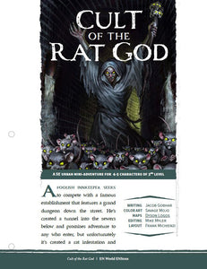 Mini-Adventure: Cult of the Rat God