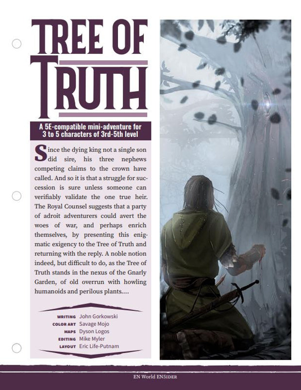 Mini-Adventure: Tree of Truth