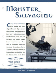 Monster Salvaging