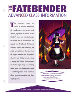 The Fatebender: Advanced Class Information