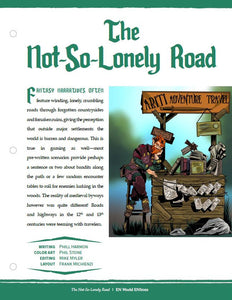 The Not-So-Lonely Road