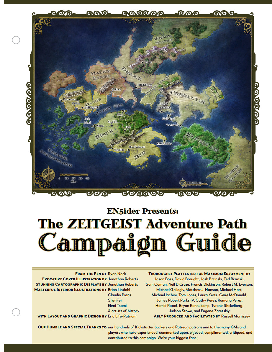 ZEITGEIST: The Gears of Revolution Campaign Guide (4189114957933)
