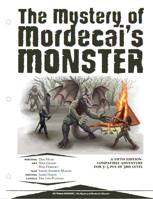 The Mystery of Mordecai's Monster