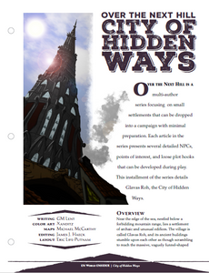 Over the Next Hill: City of Hidden Ways