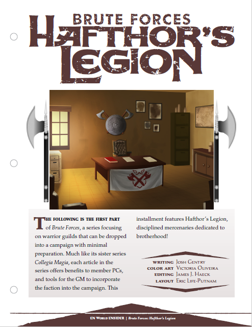 Brute Forces: Hafthor's Legion