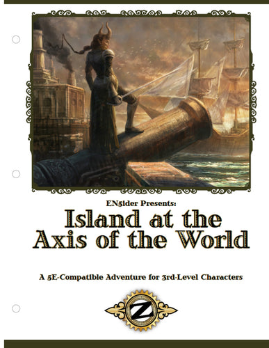 ZEITGEIST: The Gears of Revolution #1: Island at the Axis of the World PDF