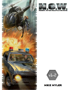 N.O.W. The Modern Action Roleplaying Game v1.2 (4159105400941)