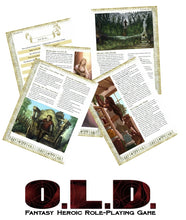 Load image into Gallery viewer, O.L.D. The Fantasy Heroic Roleplaying Game v1.2 (4160306774125)