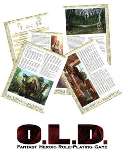 O.L.D. The Fantasy Heroic Roleplaying Game v1.2 (4160306774125)