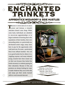 Enchanted Trinkets: Apprentice Wizardry & Side Hustles
