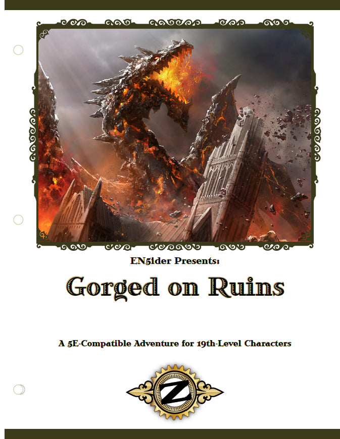 ZEITGEIST: The Gears of Revolution #11: Gorged on Ruins PDF