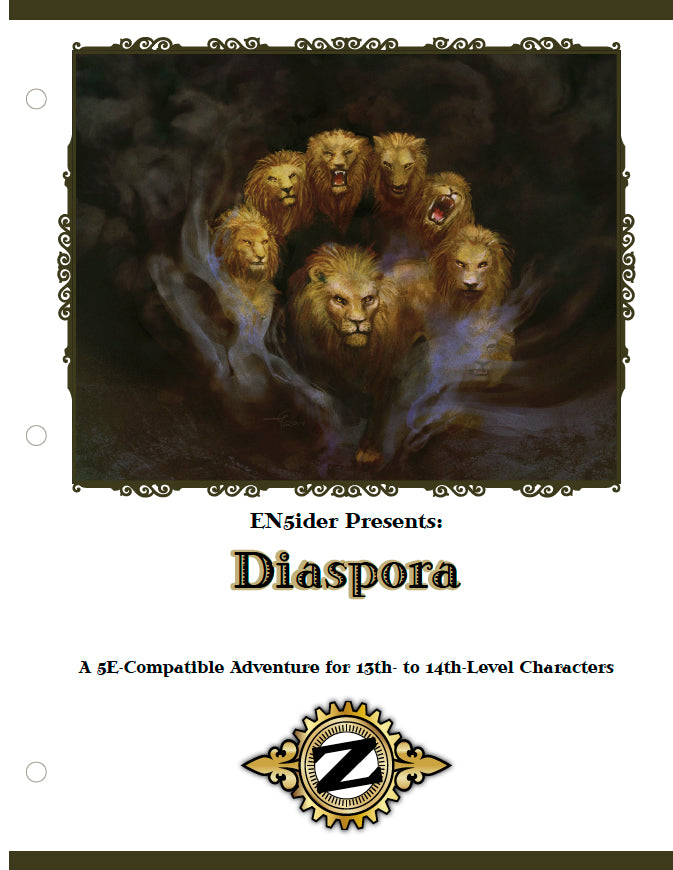 ZEITGEIST: The Gears of Revolution #8: Diaspora PDF