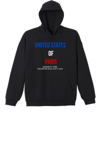 SWEAT-SHIRT STREETWEAR - UNITED STATES OF PARIS - LEROYAUME